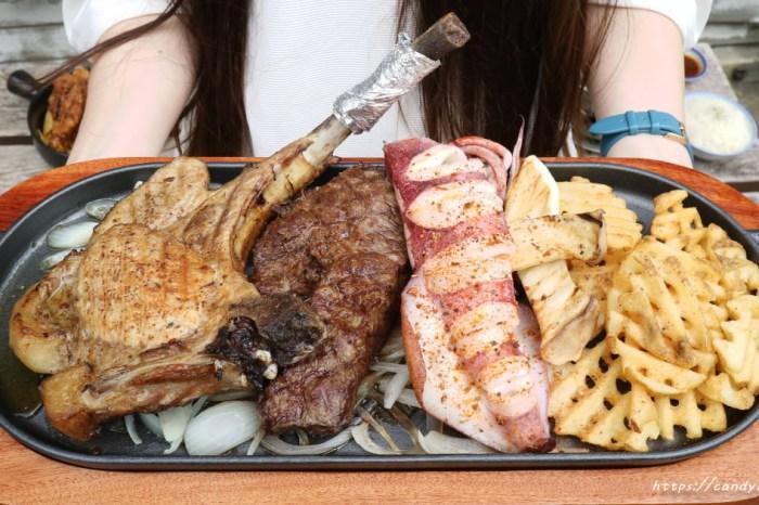逢甲人氣美食│一點也不隨便的隨便義大利麵,豪華排餐霸氣登場~量多就是狂!