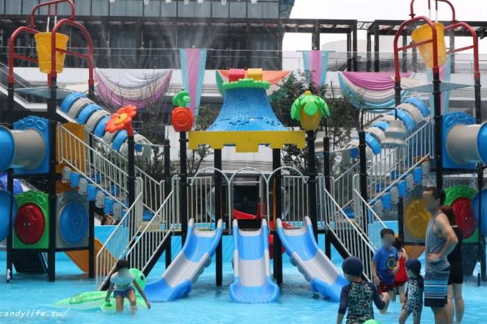 超刺激親水城堡就在台中!週末還有恐龍鯊魚大遊行、冰雪奇緣實境秀、派對市集~活動只到九月底!