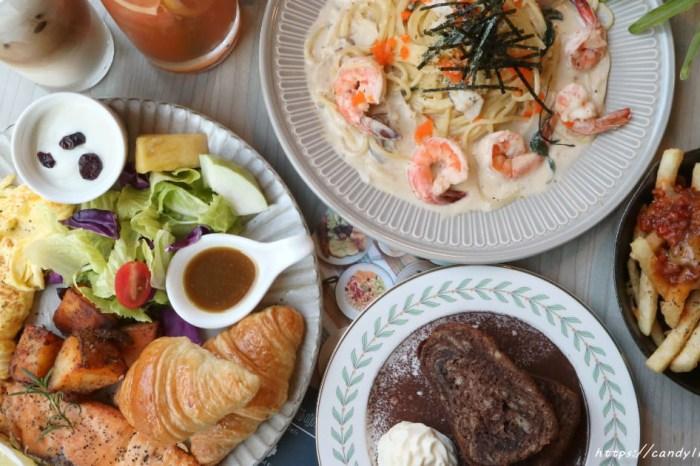 Hecho做咖啡Lite&Deli│台中早午餐推薦,份量超多,環境優美,還有義大利麵及好吃鬆餅~