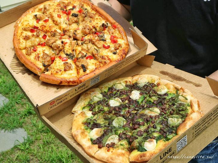 20200317143247 97 - 必勝客披薩新口味「京都宇治金時」限量開賣,同場加映鹹口味「總舖師三杯雞比薩」~