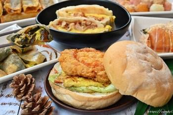 LUN Brunch Café 早午餐│台中平價早餐,料多實在只要銅板價,吃的到彩色湯圓還有古早味炸年糕!