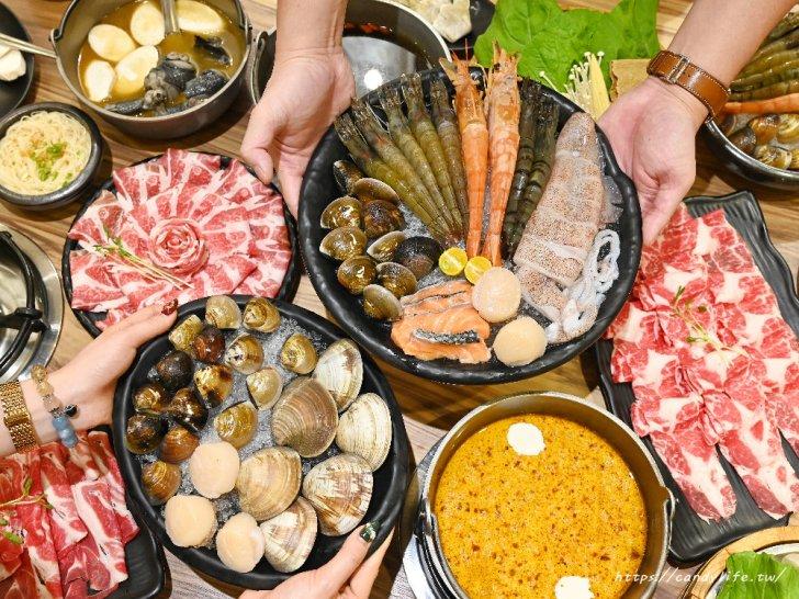 20201007141840 27 - 熱血採訪│台中唯一有機葉菜吃到飽火鍋店,現在還有海鮮買大送小超划算!