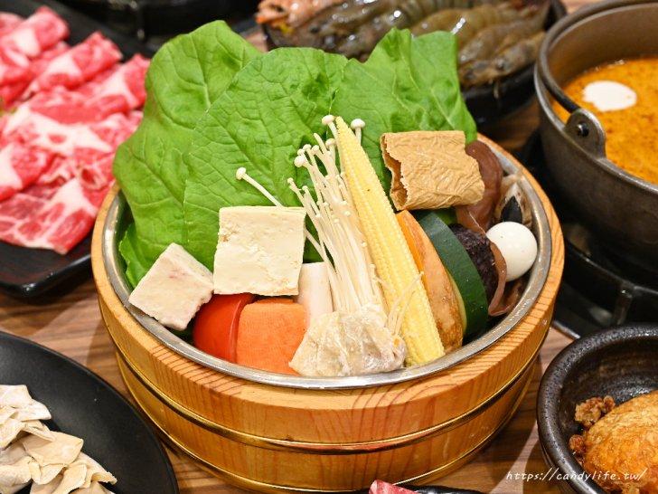 20201007141923 59 - 熱血採訪│台中唯一有機葉菜吃到飽火鍋店,現在還有海鮮買大送小超划算!