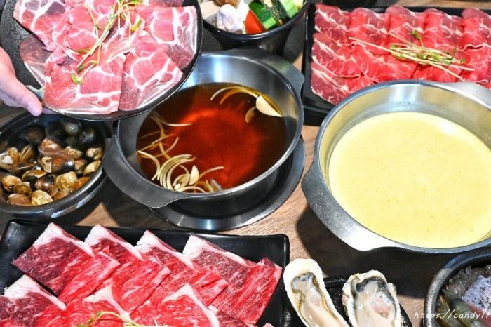 巷弄中的火鍋店,外表看似樸實但餐點CP值真的很高,肉盤本身就是大份量,打卡還可再送一盤不一樣的肉