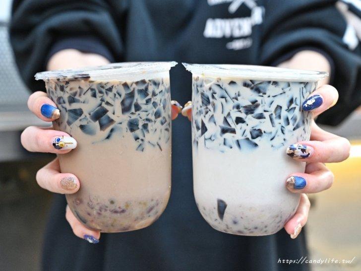 20210115224120 21 - 台中人氣古早味仙草凍飲,一杯只要25元起,料超多,還有熱仙草凍,別於一般燒仙草口感唷