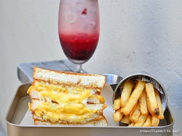 20210330115151 31 - 台中網美系早午餐,主打手作三明治,激推薯餅起司三明治,瀑布起司超邪惡~