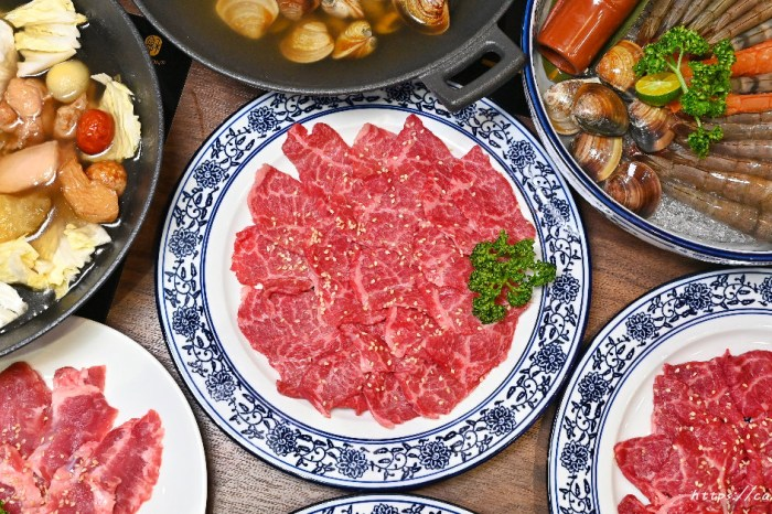 炩妃家鍋物|台中主打手切冷藏肉鍋物,湯頭竟然還有佛跳牆!四月底前來消費還送肉一盤~