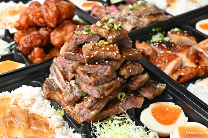 嵐山熟成牛かつ專売│超狂肉肉便當在這裡,肉多到便當盒蓋不起來!自取外帶再享8折優惠~