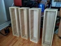 Ikea Boalt Wooden CD Racks (Wall mountable) For Sale ...