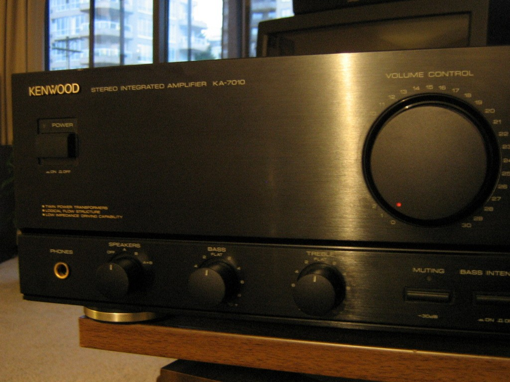 kenwood stereo amplifier ka 1400b ignition switch deutsch 7010 integrated amp sold for sale canuck