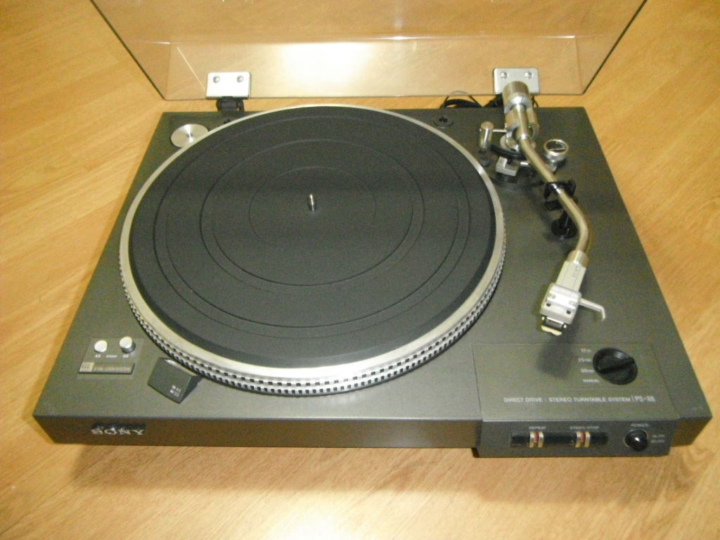 RARE SONY PS-X6 TURNTABLE *** SOLD For Sale - Canuck Audio Mart