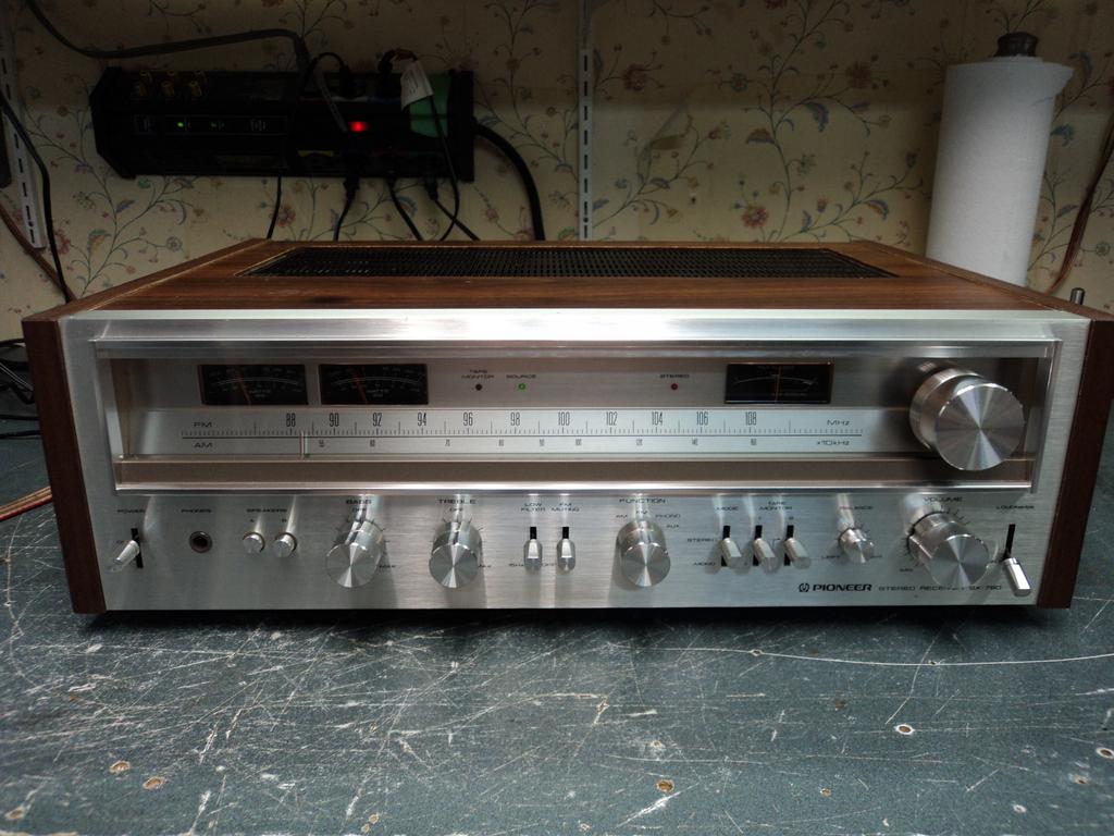 pioneer radio manual wiring diagram for caravan plug sx 780 am fm stereo receiver hifi