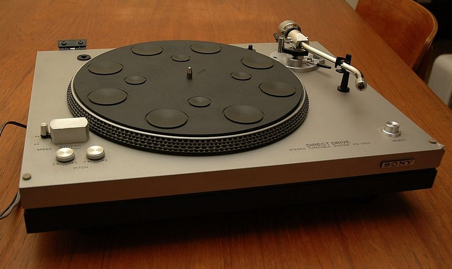 Vintage Sony PS-3300 Direct Drive Turntable w/ Pitch Control For Sale - Canuck Audio Mart