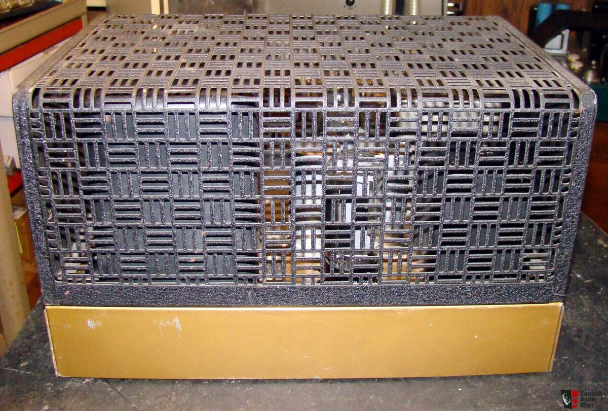 Vintage Heathkit W5m Amplifier For Repair Or Parts Photo