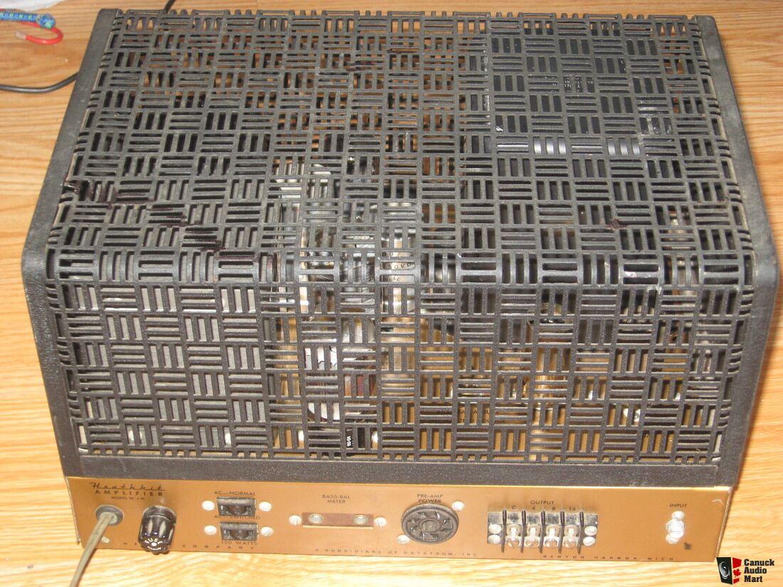 Heathkit W5m Amplifier With Peerles Photo