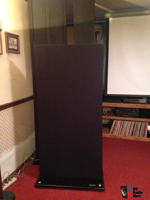 Acoustat Spectra 33 Full Range Electrostatic Speaker Photo