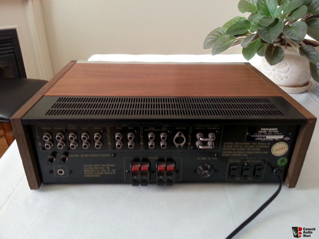 pioneer stereo integrated amplifier a 443 7 pin flat wiring diagram australia sa 7100 sold on