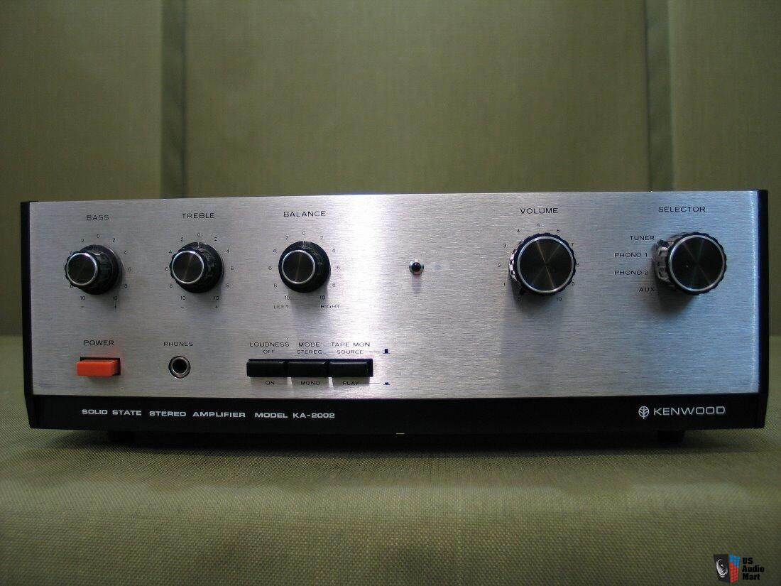 kenwood stereo amplifier ka 1400b root cellar ventilation diagram 2002 vintage integrated photo