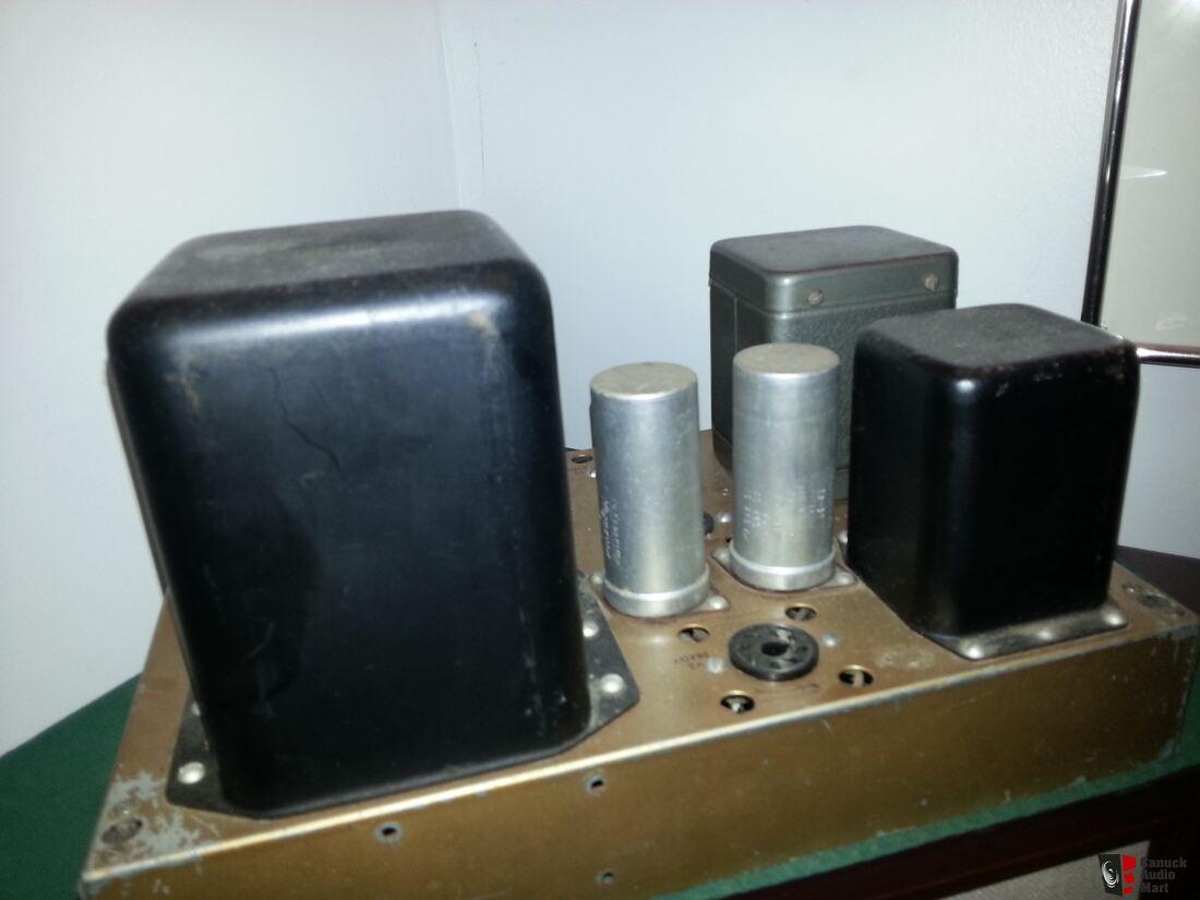 Heathkit W5m Mono Block Amplifiers Photo