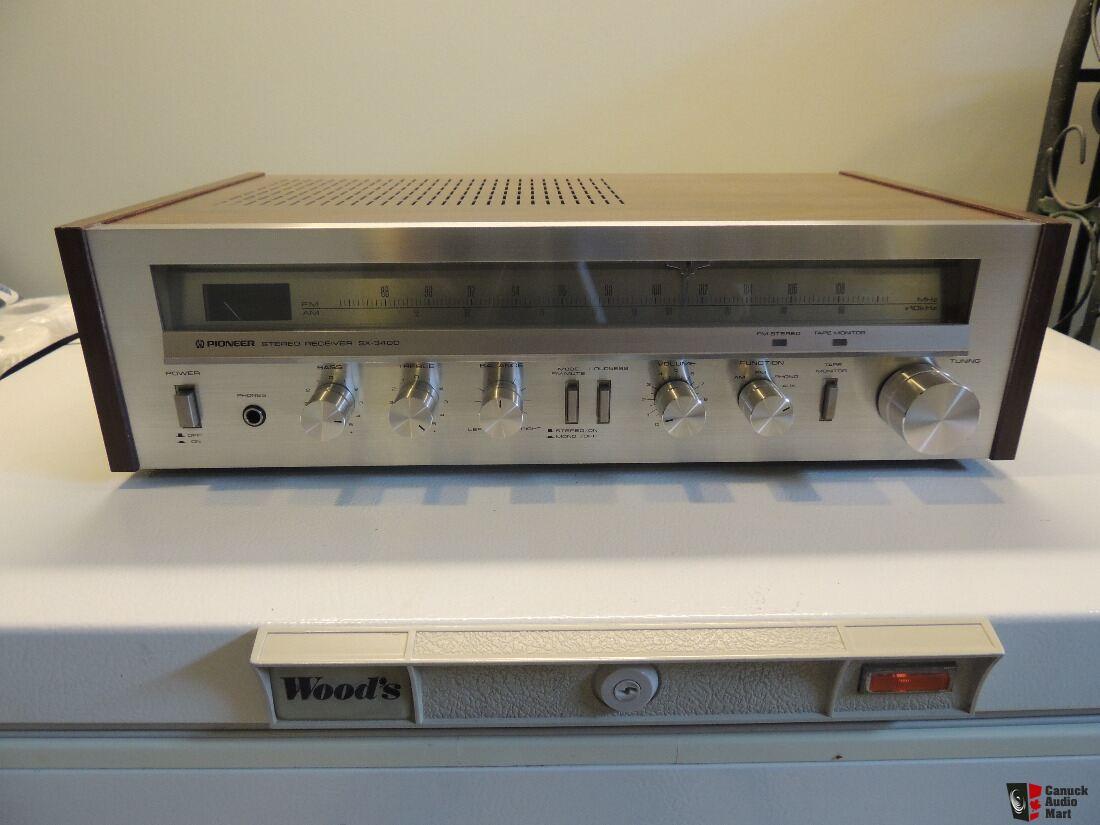 pioneer stereo receiver test 2006 klr 650 wiring diagram vintage sx 3400 1980 exc