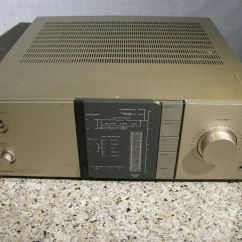 Pioneer Stereo Integrated Amplifier A 443 Typical Wiring Diagram For House Totl Vintage 9 Repair Or