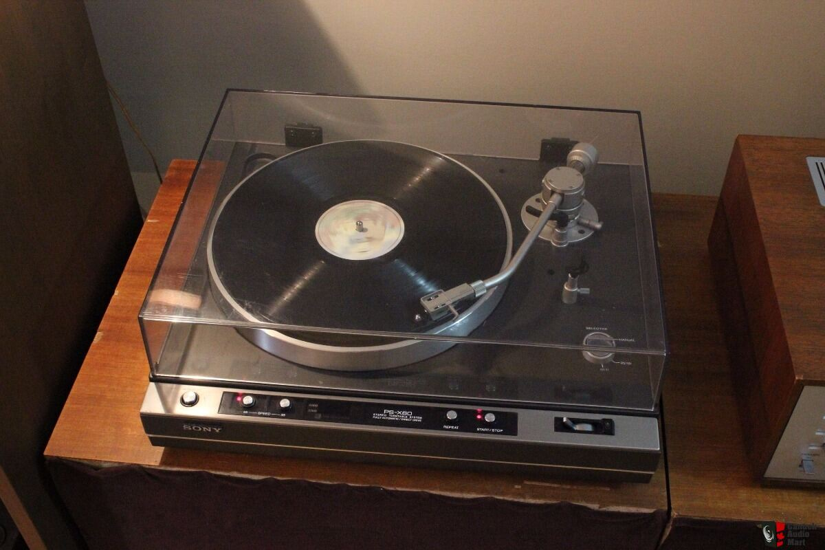 Sony PS-X60 Turntable Direct Drive Photo #1630949 - Canuck Audio Mart