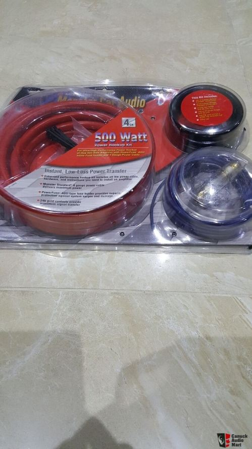 small resolution of monster car amp wiring kit