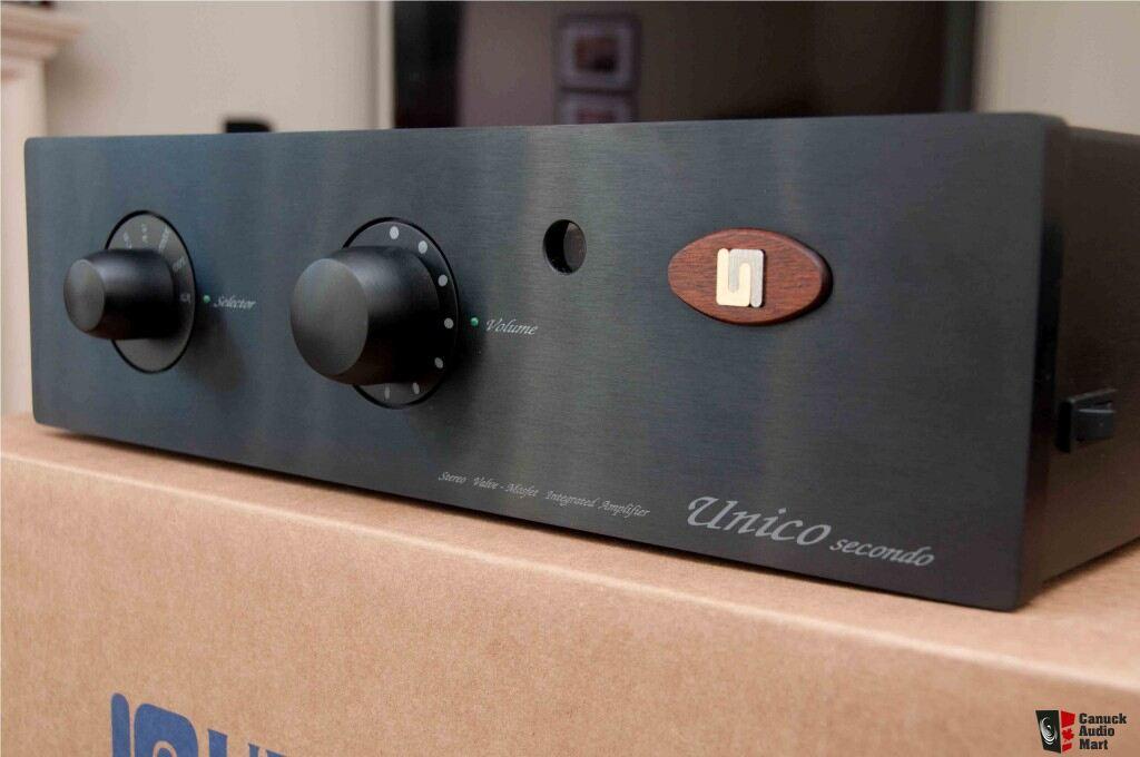 Unison Research Unico Secondo Integrated Amp NEW PRICE Photo #274593 - Canuck Audio Mart