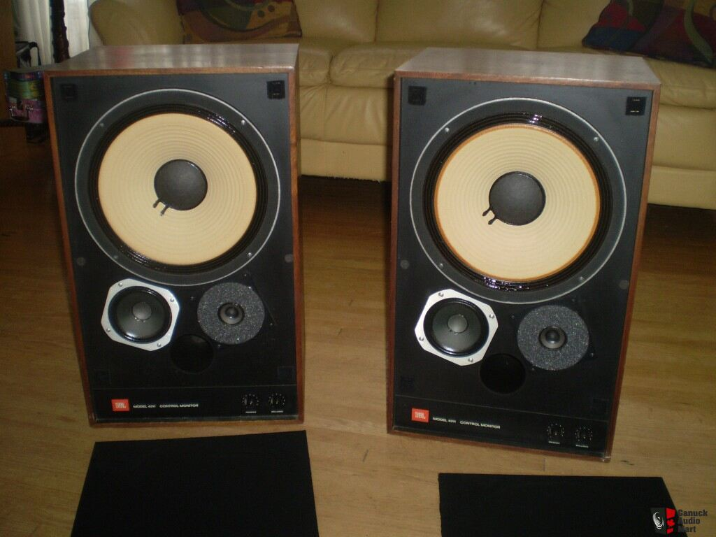 JBL 4311 Control Monitor Speakers sale pending to Greg  Photo 380550  Canuck Audio Mart