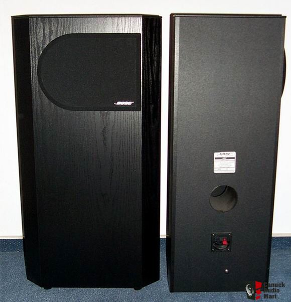 BOSE 401 STEREO TOWER SPEAKERS Direct Reflecting Floor
