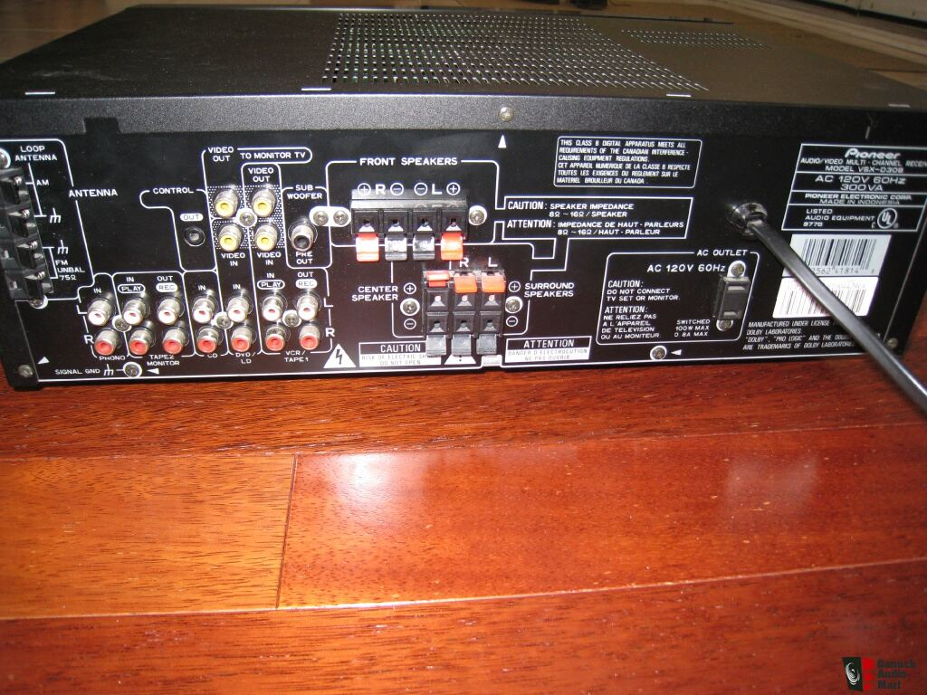 av receiver wiring diagram 1999 ford windstar fuse pioneer vsx diagrams d411