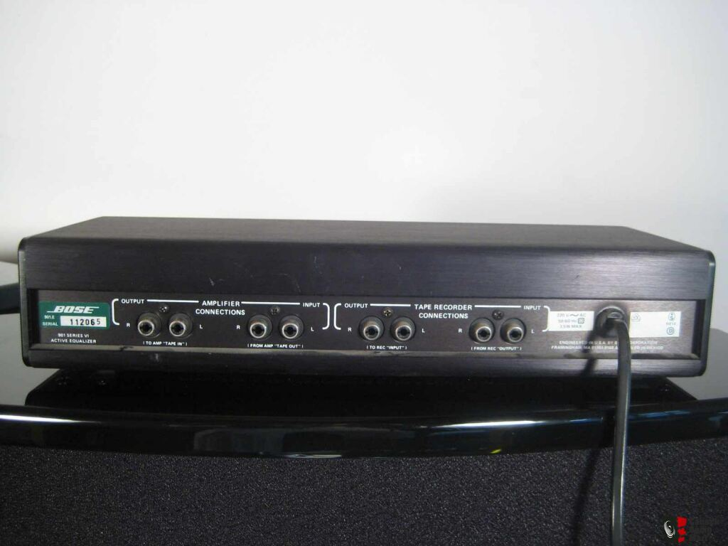 Bose 901 Series Vi With Pedestal Stand And Active