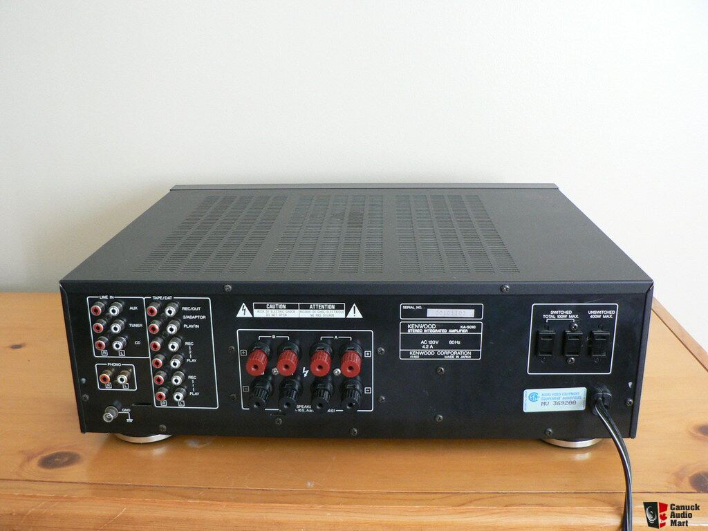 kenwood stereo amplifier ka 1400b how to draw an enthalpy diagram 5010 integrated photo 834662