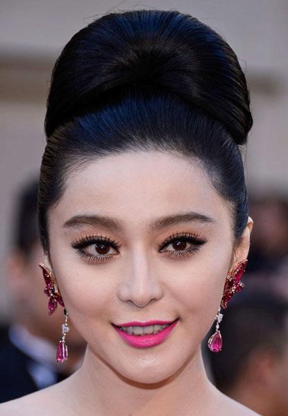 Fan Bingbing Hairstyles