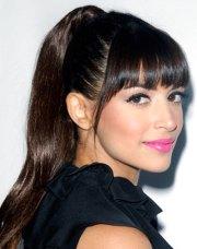 blunt bangs hairstyles - haircuts