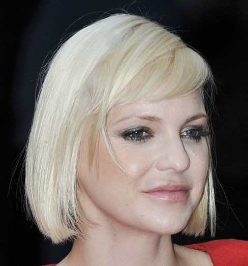 Anna Faris Pageboy Hairstyle Everyday