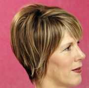 stacked wedge haircut short hairstyles