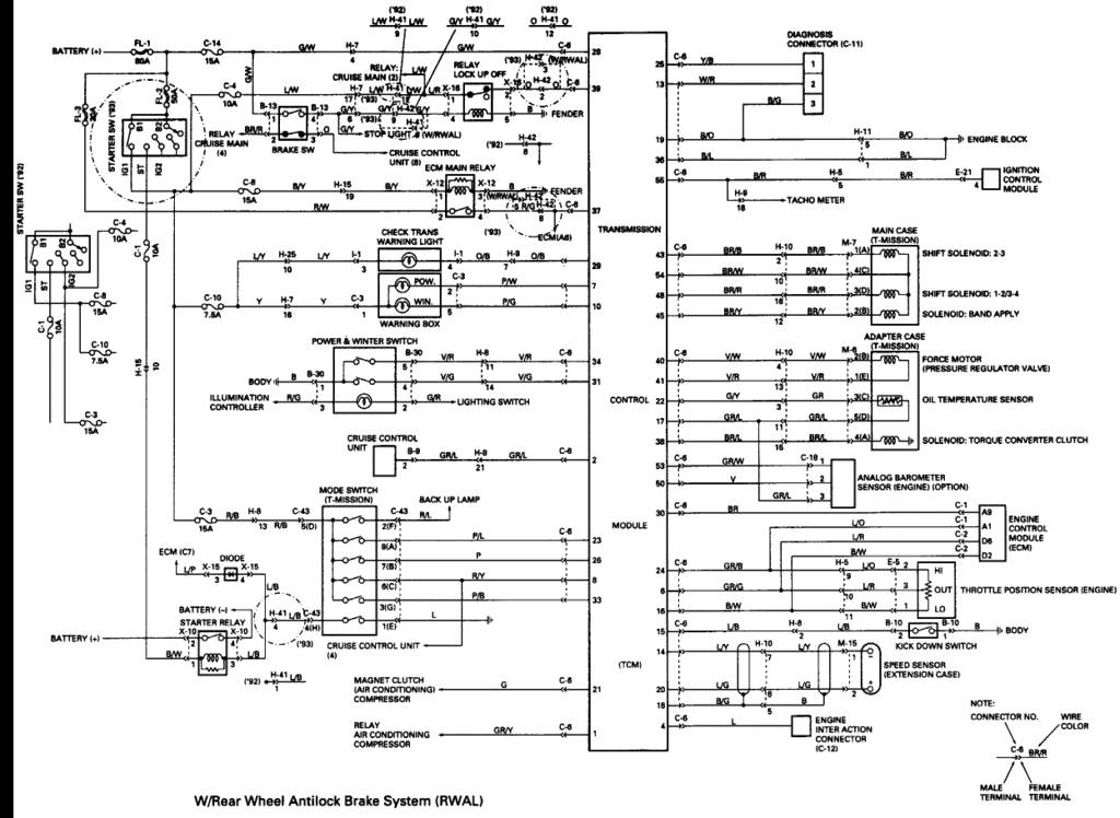 1992 Isuzu Trooper Wiring Diagram : 33 Wiring Diagram