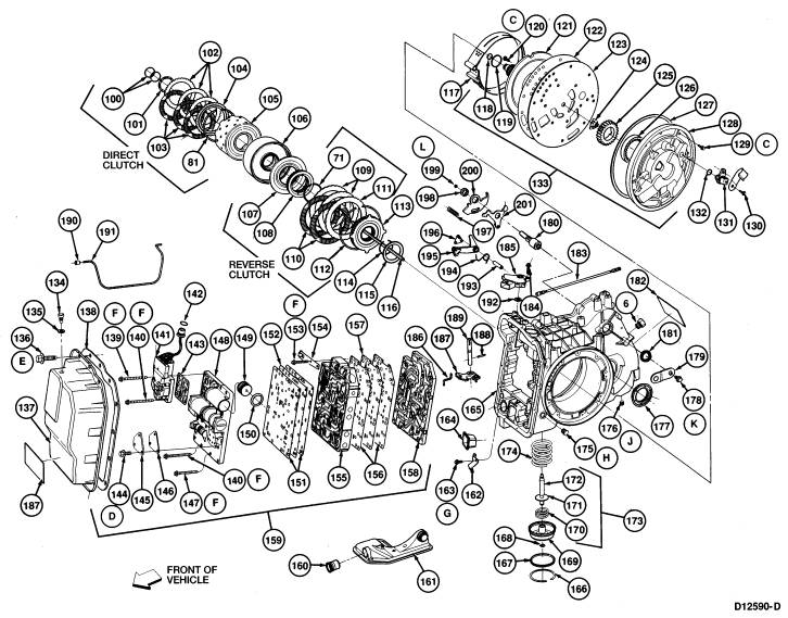 1989 Mazda 626 Parts Diagram Transmission. Mazda. Auto
