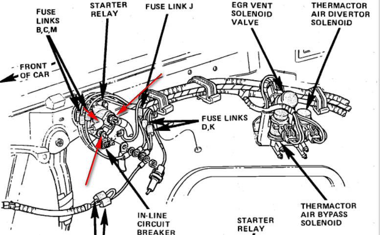 1974 lincoln continental wiring diagram