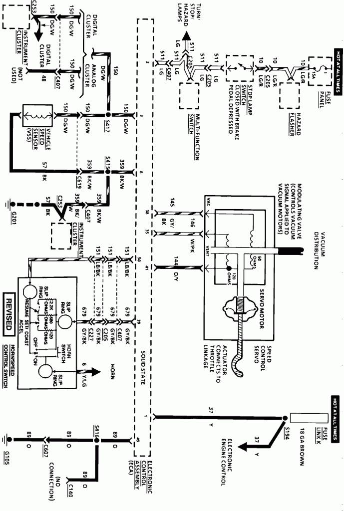 Cruise Control Wiring Diagram 1988 Lincoln Mark Vii