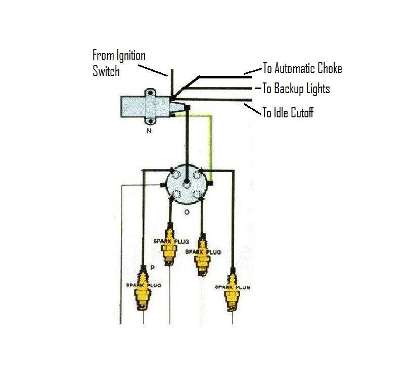 electronic ignition vw diagram
