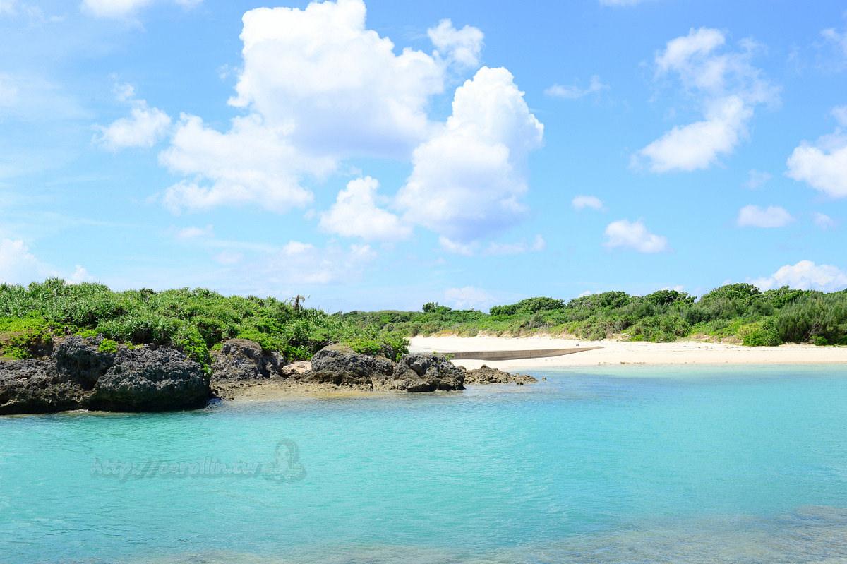 日本沖繩宮古島伊良部 - 卡琳。摸魚兒趣