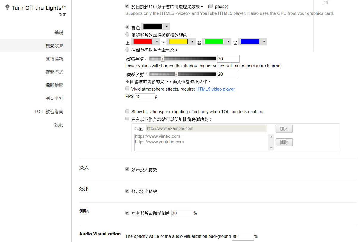 Google Chrome 瀏覽器擴充功能 實用外掛 關燈看影片 - 卡琳。摸魚兒趣