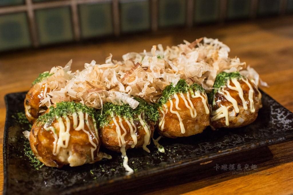 臺南美食 | 中西區 蛸屋本舖 章魚燒 - 日式食堂風格小店 - 卡琳。摸魚兒趣