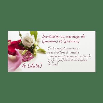faire part de mariage a imprimer gratuit