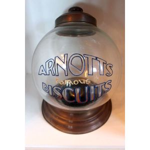 biscuit tins and globes  advertising  price guide and values