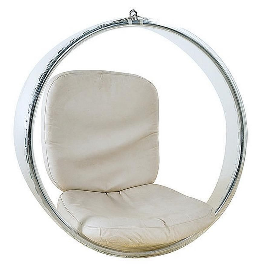 perspex hanging chair stand rubber eero aarnio bubble for adelta with metal