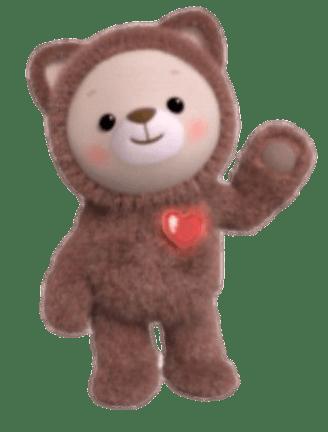 Rainbow Ruby Png : rainbow, Check, Transparent, Rainbow, Character, Choco, Teddy, Image