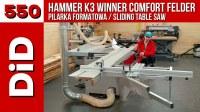 550. Pilarka formatowa Hammer K3 Winner Comfort Felder ...
